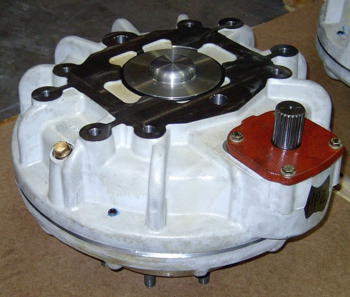 GEARBOX FOR AGRICULTURAL TRACTORS NH